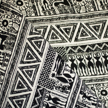 TISSU COTON IMPRIME EGYPTIAN x 10cm