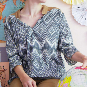 BLOUSE CHIC BIRDY