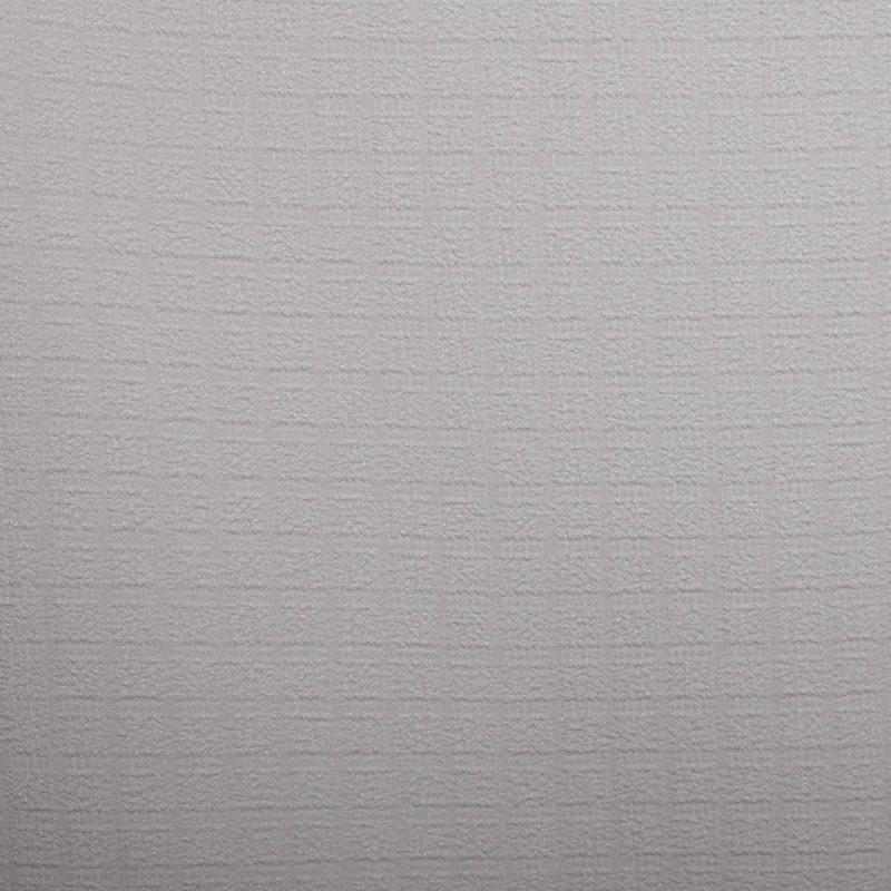 TISSU POLYESTER TEXTURE A CARREAUX BLANC CASSE X 10 CM