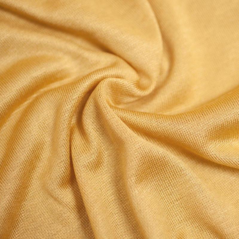 TISSU MODAL BRIGHT GOLD  X 10 CM