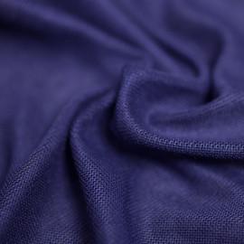 tissu bio modal mazarine blue  X 10 CM