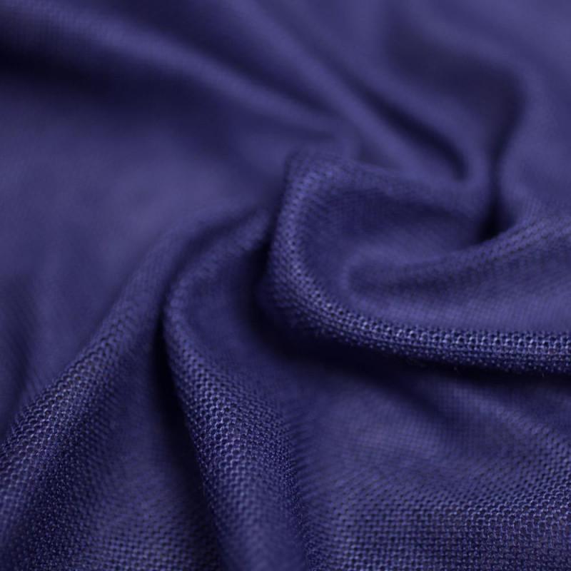 TISSU MODAL MAZARINE BLUE X 10 CM