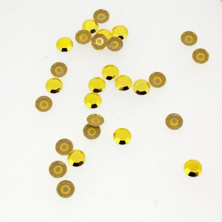 Clous à facettes Jaune moutarde