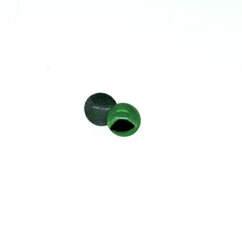 Clous bombés vert émeraude