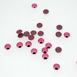 Clous bombés rose pétunia