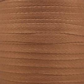 RUBAN COTON SERGE AMANDE x 1m