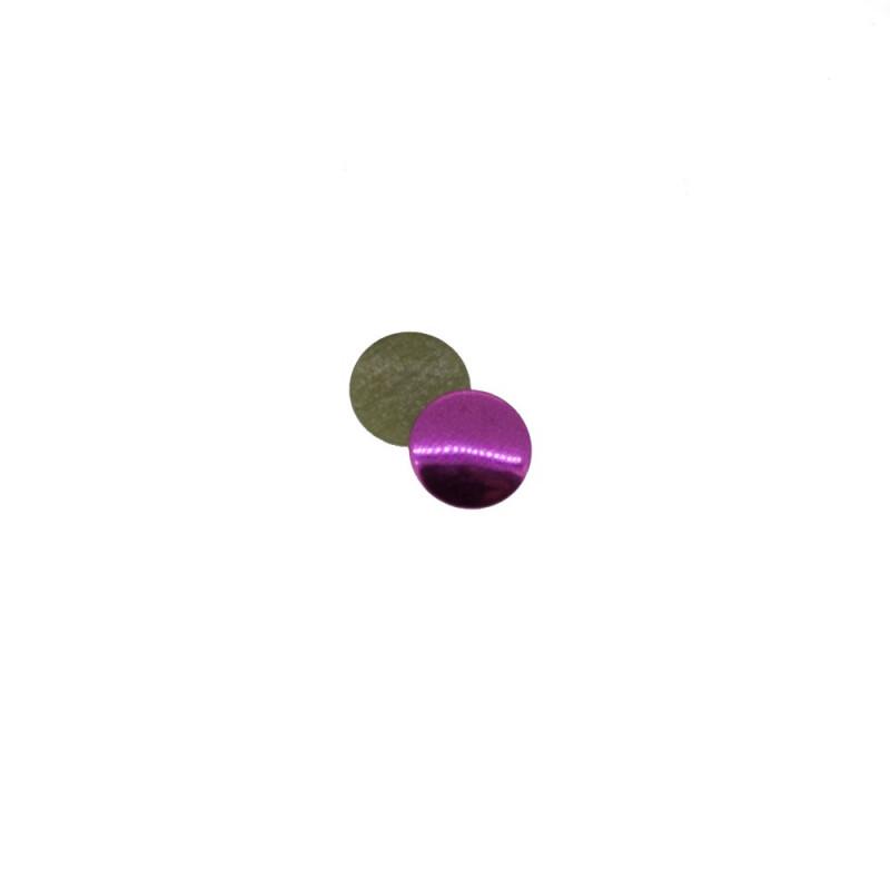 Clous plats lila