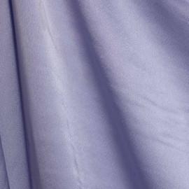 Tissu tri-acétate mauve satiné x 10 CM