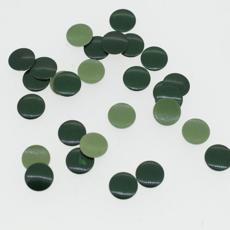 Clous plats vert émeraude