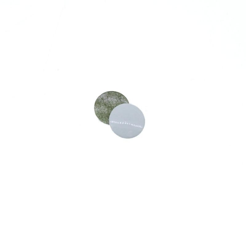 Clous plats blanc