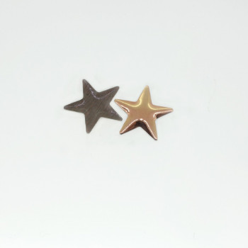 Clous étoile cuivre