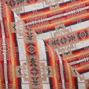 Tissu laine Machu Picchu x 10 CM
