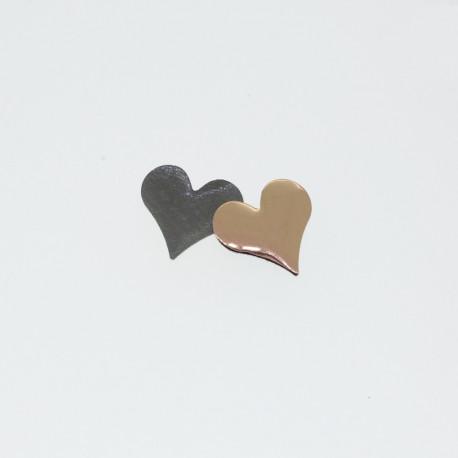 Clous coeur cuivre