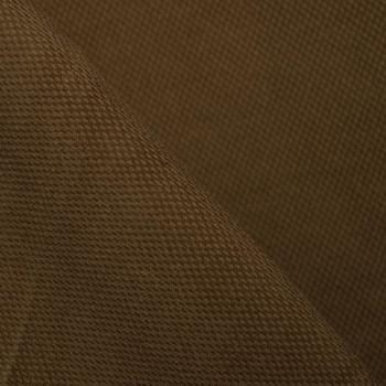 TISSU PIQUE DE COTON BROWN SUGAR  X 10 CM