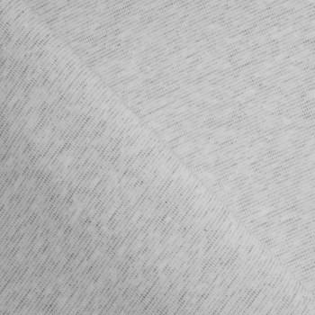 TISSU COTON BIO CHINÉ GRIS X 10 CM