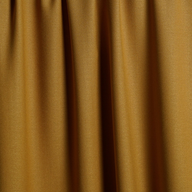 TISSU LAINAGE & TENCEL MIEL DORÉ x 10 CM - tissus en ligne - polyester motif pas cher - mercerie en ligne - pretty mercerie