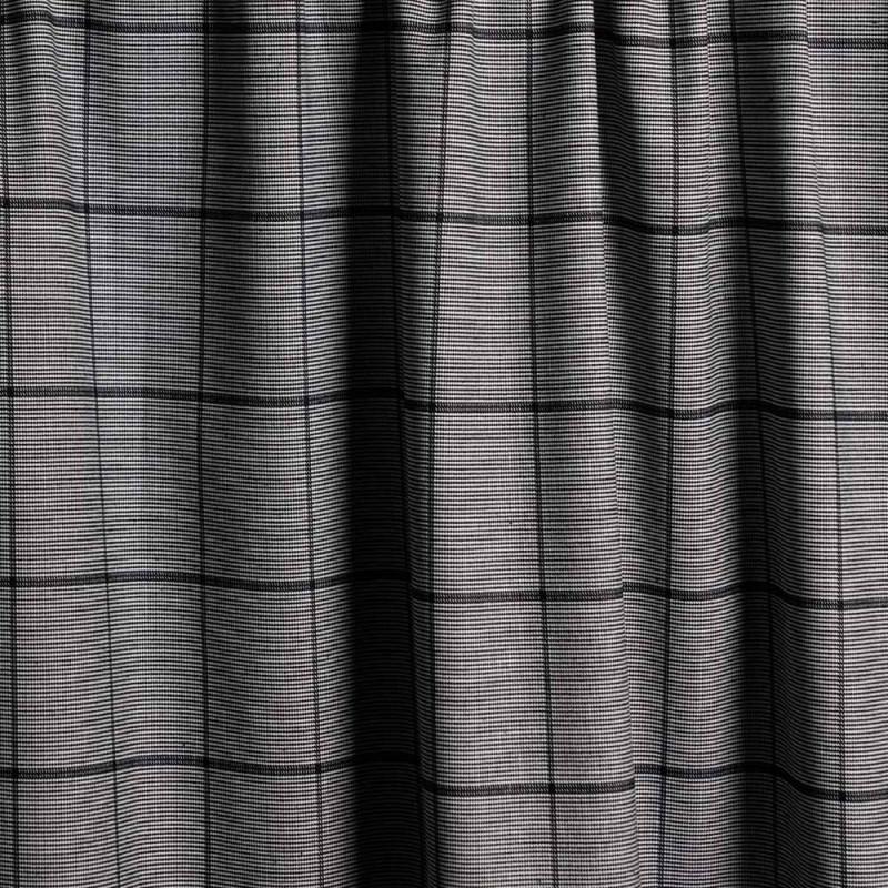 Tissu polyester rectangle noir & blanc x 10cm