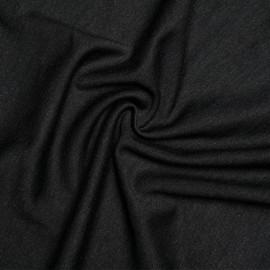 tissu jersey viscose nylon gris chiné  x 10 CM