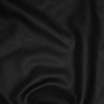 Drap de laine noir x 10cm