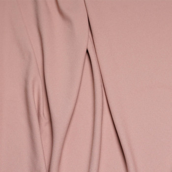 Tissu crêpe polyester rose tan x 10cmPretty Mercerie - Tissus pas cher - Mercerie en ligne