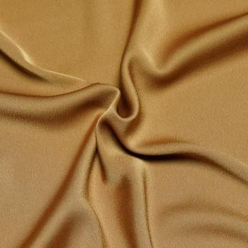 Tissu polyester amber gold x 10cm Pretty Mercerie - Tissus pas cher - Mercerie en ligne