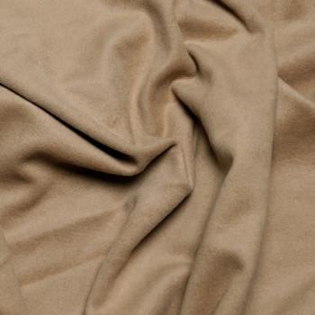 Tissu Lainage beige latté x 10cm  Pretty Mercerie - Tissus pas cher - Mercerie en ligne