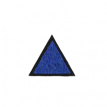 """Broches brodées """" Triangle """""""