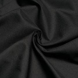 Tissu gabardine noir x 10cm