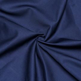 Tissu gabardine bleu x 10cm