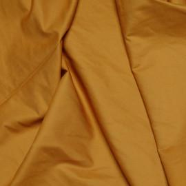 Tissu gabardine coton moutarde x 10cm