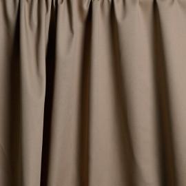 Tissu gabardine poly-coton beige x 10cm  Pretty Mercerie -Mercerie en ligne