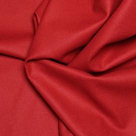 Drap de laine rouge brique x 10cm