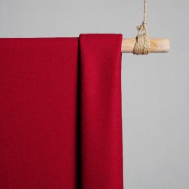 Tissu Laine bouillie tango red x 10cm pretty mercerie - mercerie en ligne