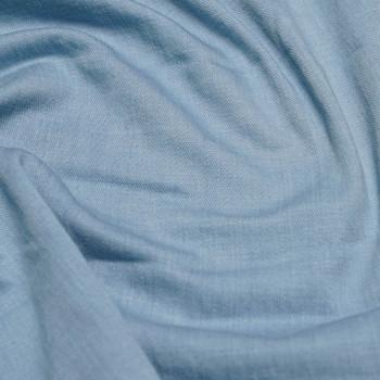 TISSU DENIM BLEU BABY BLUE X 10 CM - Pretty Mercerie - Mercerie en ligne