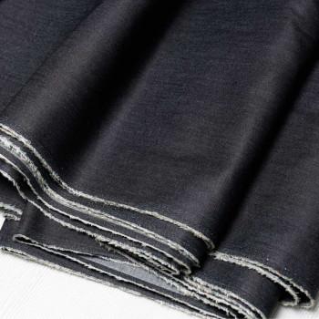 TISSU BLACK DENIM  X 10 CM - Pretty Mercerie - Mercerie en ligne