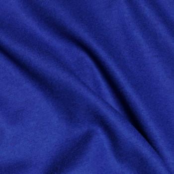 Tissu Lainage maille jersey Dazzling Blue x 10cm - Pretty Mercerie - Mercerie en ligne