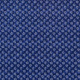 TISSU JACQUARD GRAFIC FLOWER x 10 CM - Pretty Mercerie - Mercerie en ligne