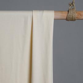 Tissu coton maille jersey banana x 10cm - pretty mercerie - mercerie en ligne - mercerie pas cher
