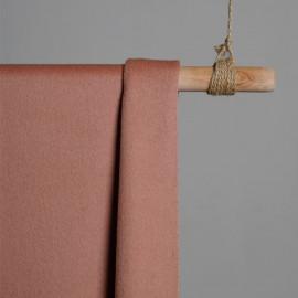 Tissu Laine bouillie tango red x 10cm - pretty mercerie - mercerie en ligne - mercerie pas cher