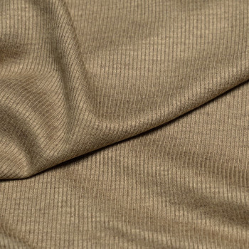 Tissu maille côtelé gold X 10 CM pretty mercerie - mercerie en ligne - mercerie pas cher