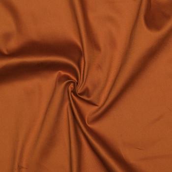 Tissu coton sergé burnt orange  X 10 CM pretty mercerie - mercerie en ligne - mercerie pas cher