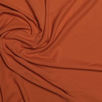 Tissu crêpe polyester brique x 10cm pretty mercerie - mercerie en ligne - mercerie pas cher