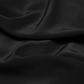 TISSU 100 % Soie Crêpe de Chine NOIR X 10 cm - Pretty Mercerie - Mercerie en ligne - Mercerie pas cher