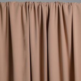 Tissu viscose herringbone toasted almond x 10cm - pretty mercerie - mercerie en ligne - tissu couture - mercerie pas cher