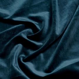 tissu velours vert canard x 10cm