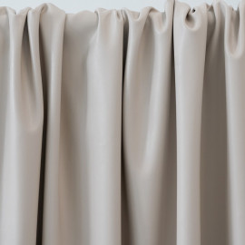 TISSU SIMILI CUIR NUDE x 10 CM - pretty mercerie - tissus couture - mercerie pas cher