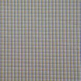 achat Tissu coton tissé à carreaux vert cresson, blanc, bleu ciel et gris x 10cm  - pretty mercerie
