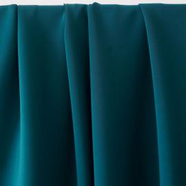 achat tissu néoprène viscose alvéolé bleu canard - pretty mercerie