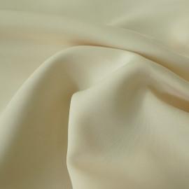 Tissu néoprène viscose alvéolé vanille X 10 CM