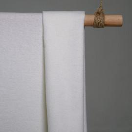 achat tissu lainage bouillie léger blanc - pretty mercerie - mercerie en ligne